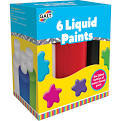 Small galt 6 liquid paints