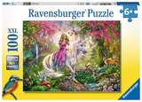 Small ravensburger fun junction toy shop perth crieff perthshire scotland puzzle magical ride puzzle unicorn 100xxl