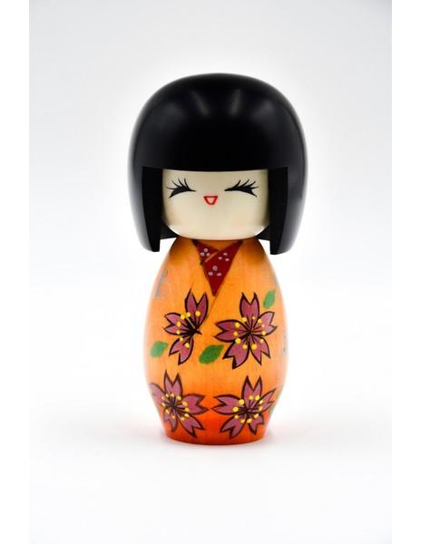 Large kokeshi doll sakura sakura