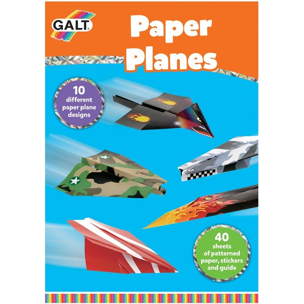 Large fun junction toy shop crieff perth perthshire scotland galt craft set paper plane planes aeroplanes customisable unique unusual