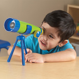 Small learning resources primary science kids children s childrens telescope 20 twenty times magnification soft eyepiece