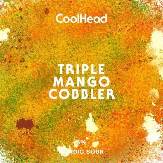 Large coolhead mango cobbler