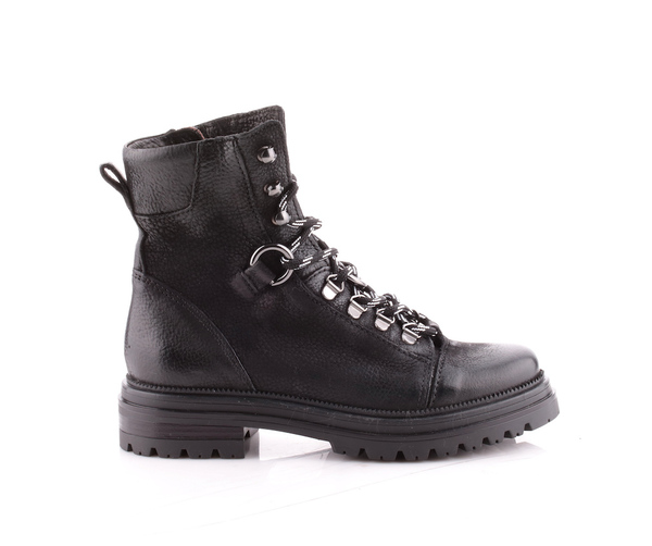 Large 158249 201 black laceup boots