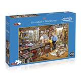 Small gibsons puzzles fun junction crieff perth perthshire independant indipendant toy shop scotland jigsaw gibsons g3533 grandad s workshop 500xl