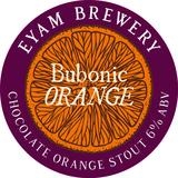 Small bubonic orange 100mm roundel