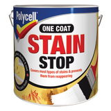 Small polycell one coat stain stop