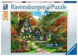 Small ravensburger fun junction toy shop perth crieff perthshire scotland puzzle cottage hideaway 500pc