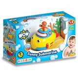 Small wow fun junction toy shop perth crieff perthshire scotland toddler preschool no batteries toy pretend play wow sunny submarine bath toy 5033491030954