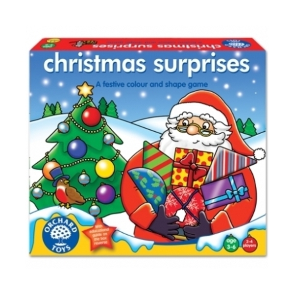 Large orchard toys games christmas surprises shape game colours presents