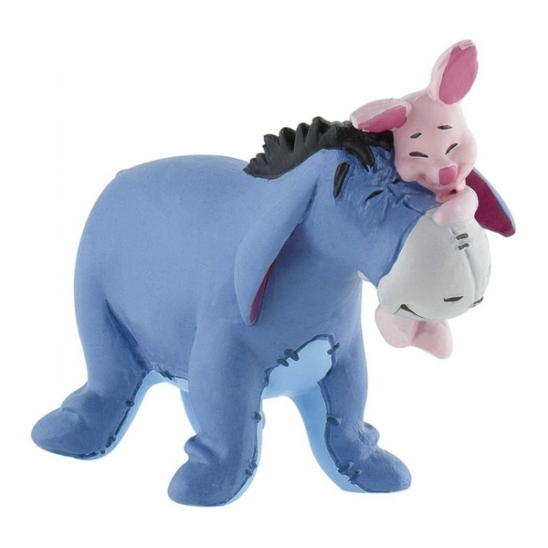 Large eeyore and piglet disney figure bullyand