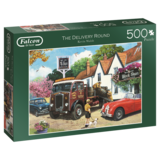 Small falcon the delivery round 500pc jigsaw puzzle