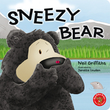 Small sneezy bear board book