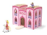 Small melissa and doug fold castle pink