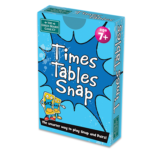 Large times tables snap box