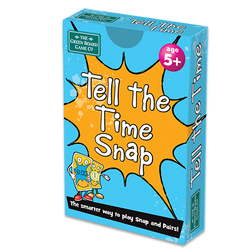 Large tell the time snap box