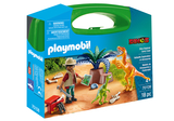 Small playmobil fun junction toy shop perth crieff perthshire scotland play sets imaginative play dino explorer carry case 70108