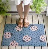 Small doormat ladybird