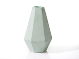 Small concrete candleholder korridor blink falmouth mintgreen