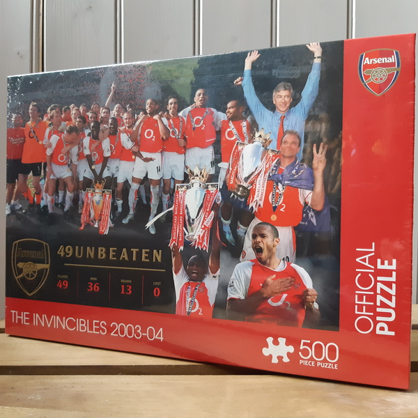 Large jigsaw football arsenal the invincibles 2003   2004