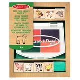 Small fun junction toy shop perthshire melissa doug set rubber stamp wood baby farm animals 2