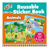 Small galt reusable sticker book animals