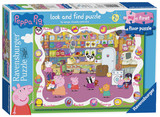 Small ravensburger fun junction toy shop perth crieff perthshire scotland jigsaw puzzle jig saw peppa pig look and find puzzle 16pc talkabout talk about