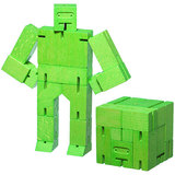 Small 708389992786 areawear cubebot green small