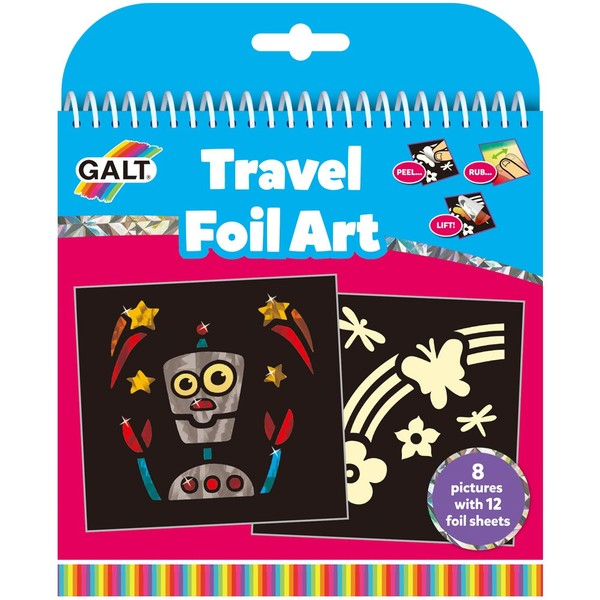 Large fun junction crieff perth scotland toy shop galt toys travel foil art peel rub lift transfer sparkle