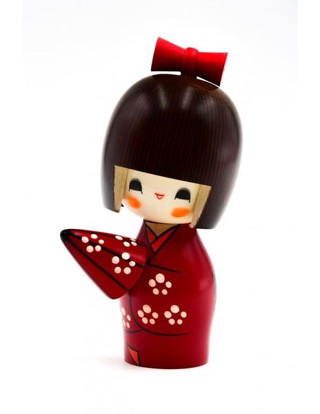 Large kokeshi doll umbrella ameyadori
