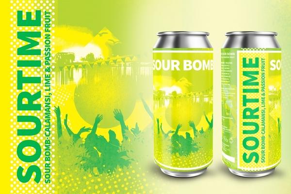 Large sourtime sour bomb
