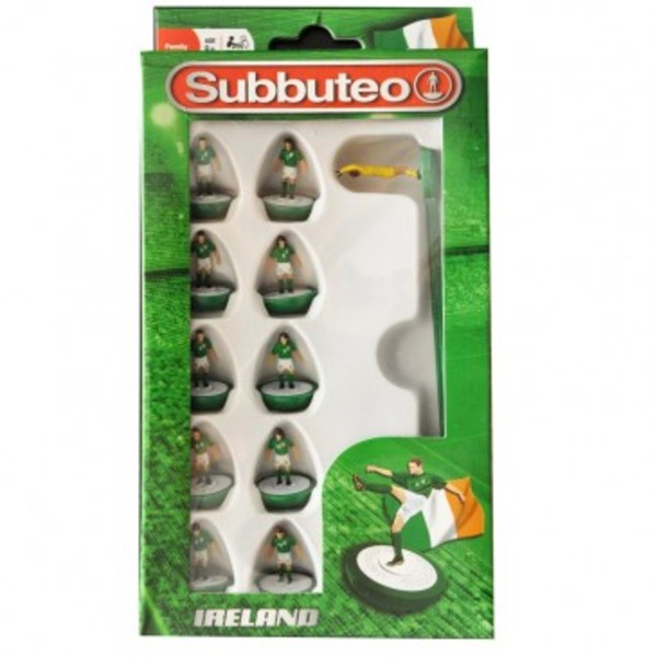 Large player ireland team subbuteo table top football