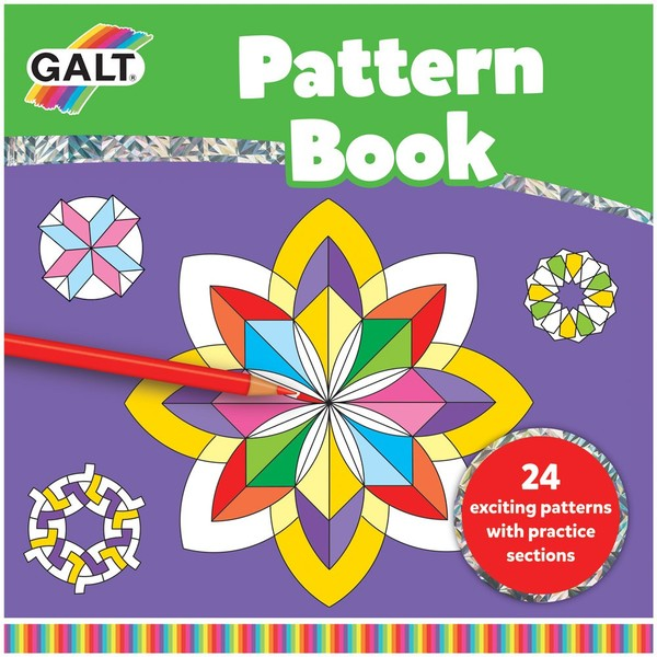 Large fun junction galt activity book colouring mandala style pattern book pictures