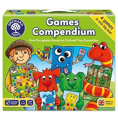 Large orchard toys games compendium game
