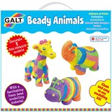 Small fun junction galt craft kit beady animals ceramic animals for children kids floam