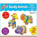 Small fun junction galt craft kit beady animals ceramic animals for children kids floam