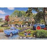 Small gibsons puzzles fun junction crieff perth perthshire independant toy shop scotland jigsaw gibsons g2715 milk on the move 250xl   trevor mitchell