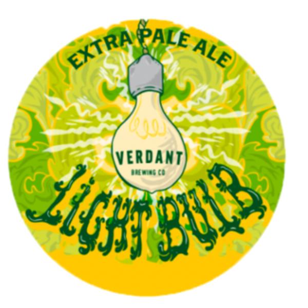 Large verdant light bulb