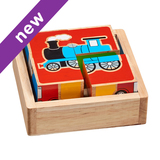 Small transport train car aroplane plane motorbike tractor bus block puzzle puzzle lanka kade fair trade toy toys wooden wood natural fun junction toy shop stop store crieff perth perthshire scotland