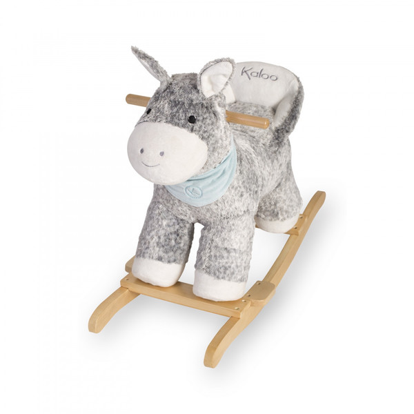 Large kaloo fun junction toy shop perth crieff perthshire scotland les amis r gliss rocking ride on donkey soft toy teddy cuddly 4895029631498