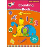 Small fun junction galt activity book stickers introduction to counting numbers primary school