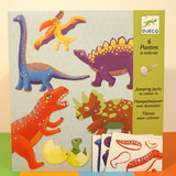 Small dl c dinosaur colouring jumping jacks