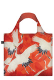 Small loqi museum womans haori white and red cranes bag rgb