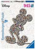 Small ravensburger fun junction toy shop perth crieff perthshire scotland jigsaw puzzle jig saw disney mickey mouse shaped 945 pc piece shaped puzzle
