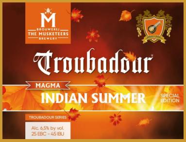 Large troubadour indian summer
