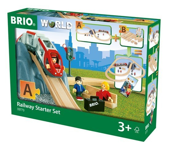 Large ravensburger fun junction toy shop perth crieff perthshire scotland brio railway starter set a 33773