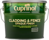Small cuprinol cladding fence opaque xl