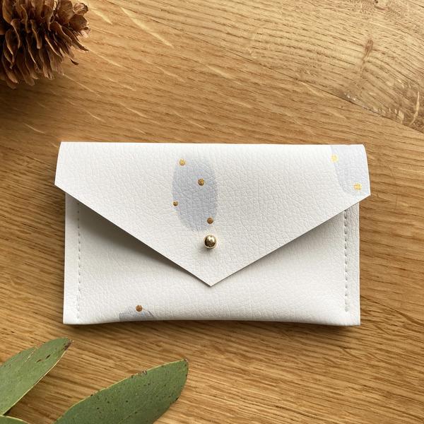 Large grey card holder