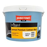 Small johnstones trade jonmat premium contract matt emulsion white 10lt 2453 p