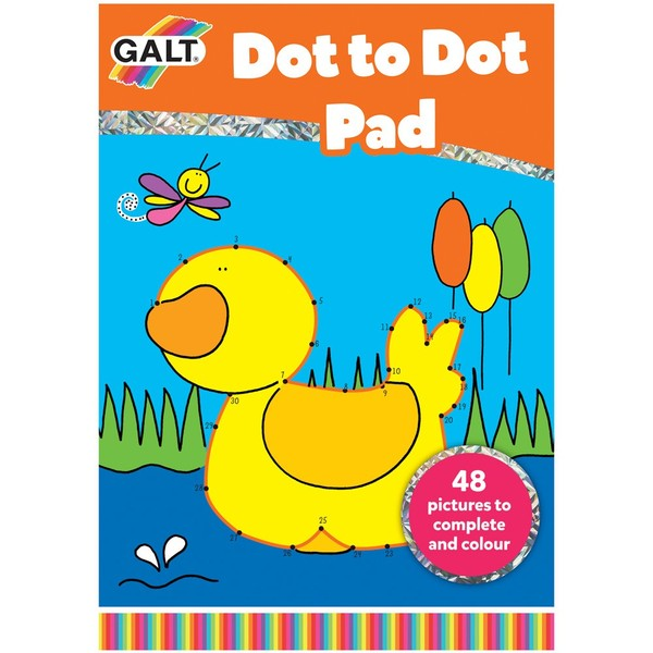 Large galt dot to dot pad for children aged 5 five years and up dexterity numeracy handwriting writing counting help practice