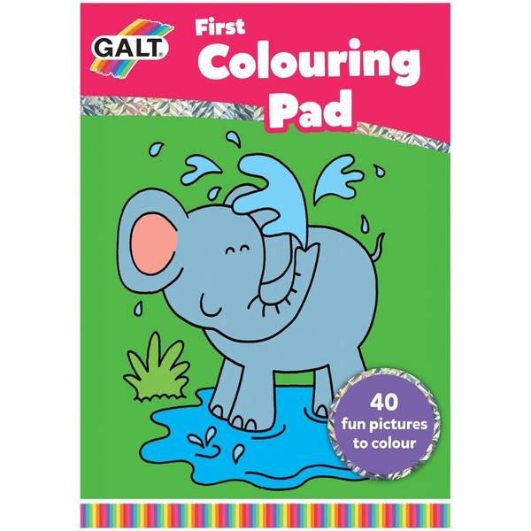 Large first colouring book for children aged 3 three years and up